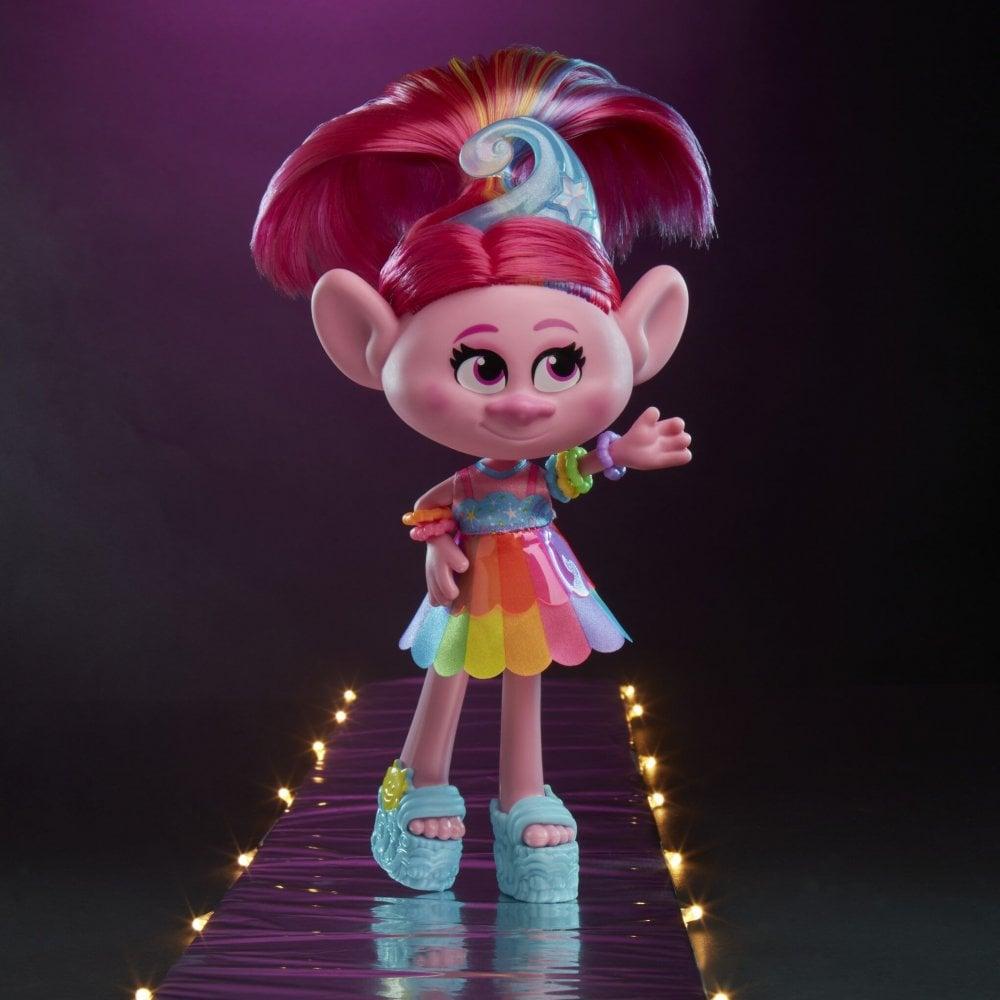 Trolls World Tour Glam Chenille Deluxe Fashion Doll